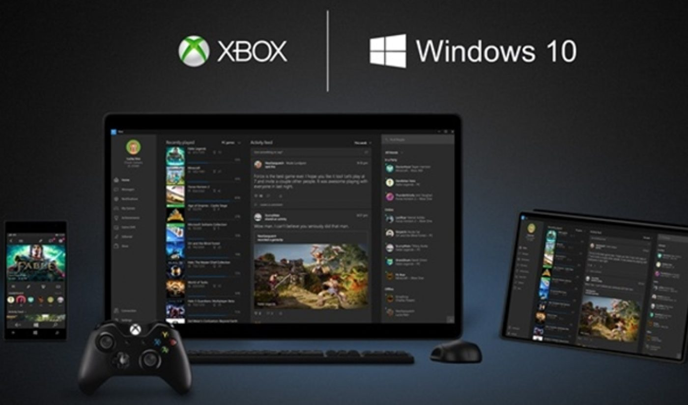 Xbox's Windows 10 App To Offer Tools For YouTube, Twitch Streamers