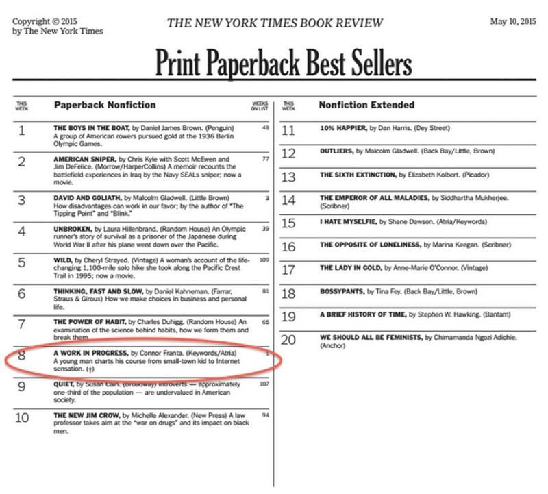 Connor-Franta-Work-in-Progress-NYT-Bestseller-2