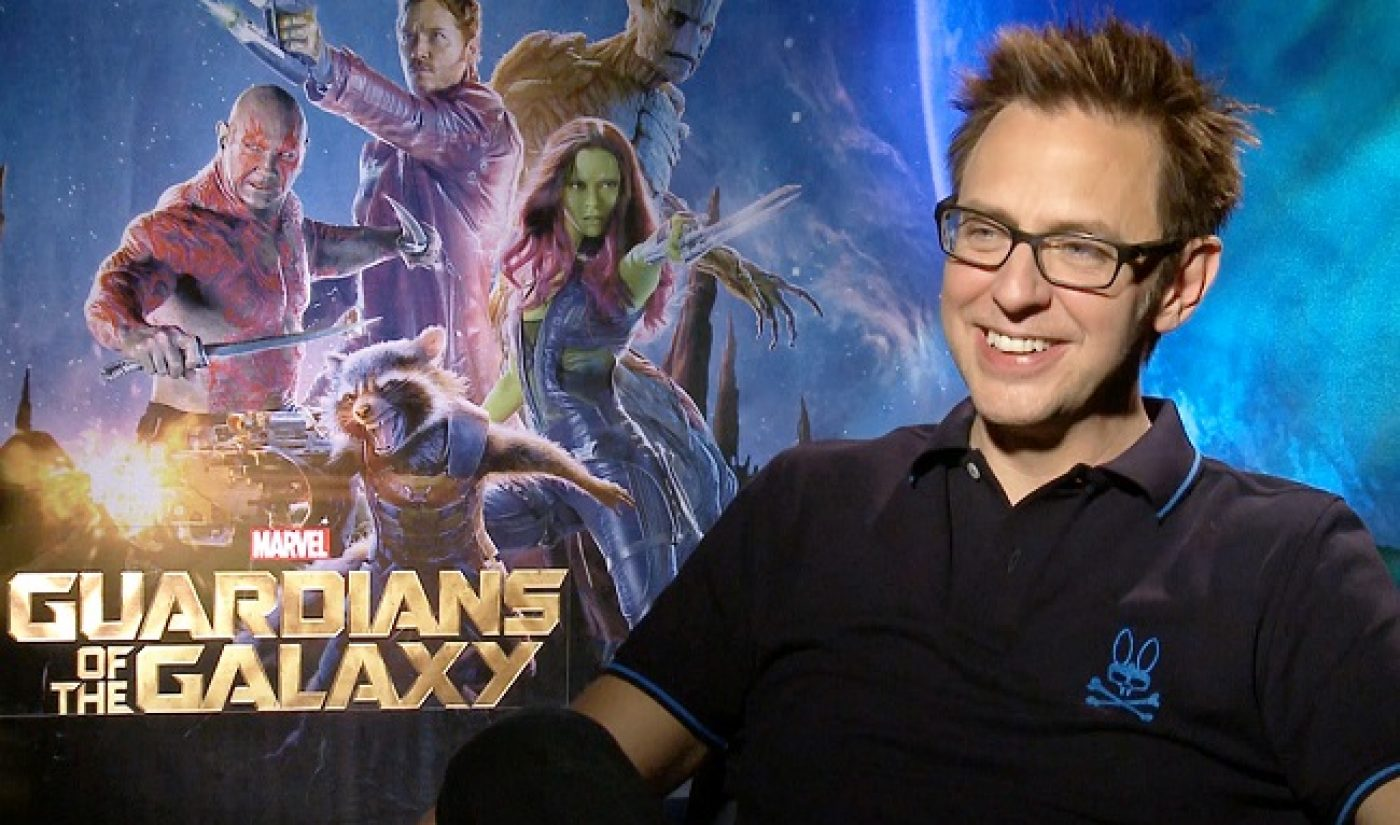 James Gunn Revealed 'Guardians Of The Galaxy 2' Details Via Periscope Live Stream