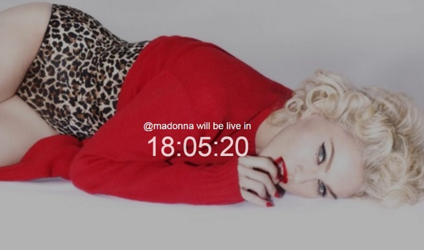 """Madonna Will Release New Music Video """"Ghosttown"""" On Meerkat"""