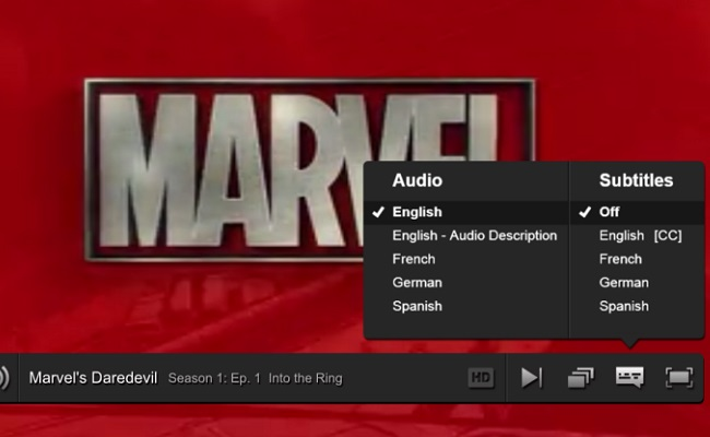 how to add a subtitle track to a streaming movie