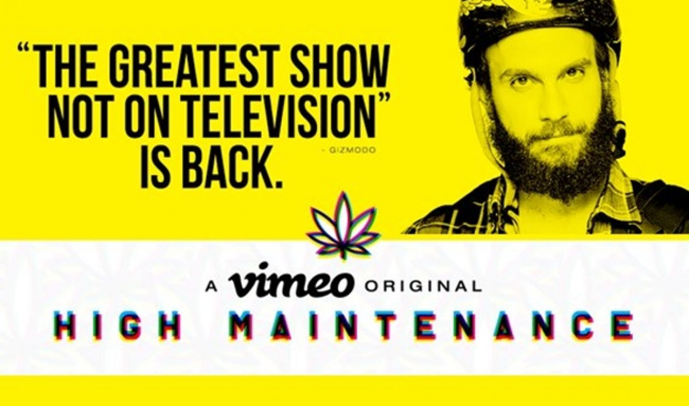 HBO Picks Up Vimeo Original Series 'High Maintenance'