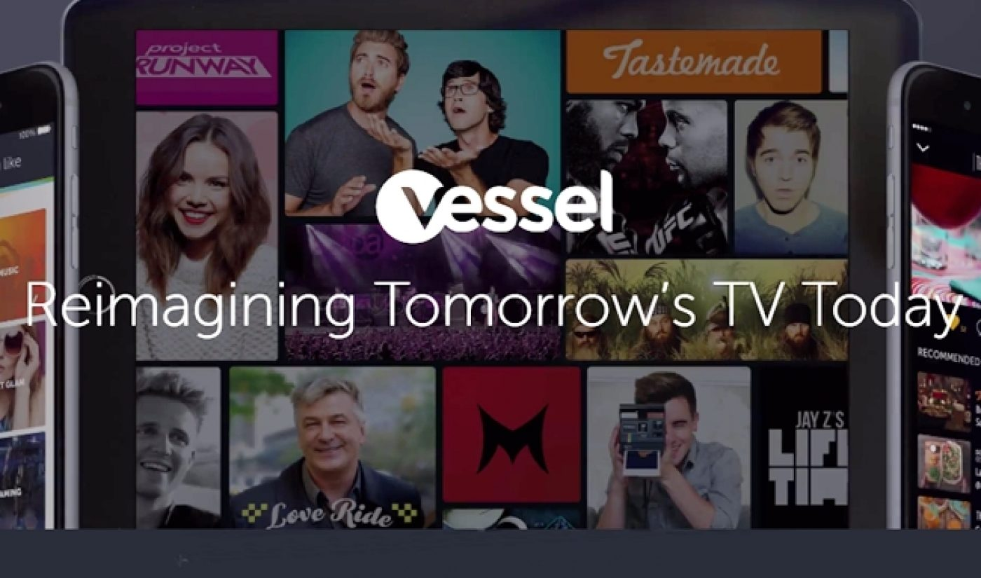 Vessel Brings Total Funding To $134.5 Million With $57.5 Million Series B Round