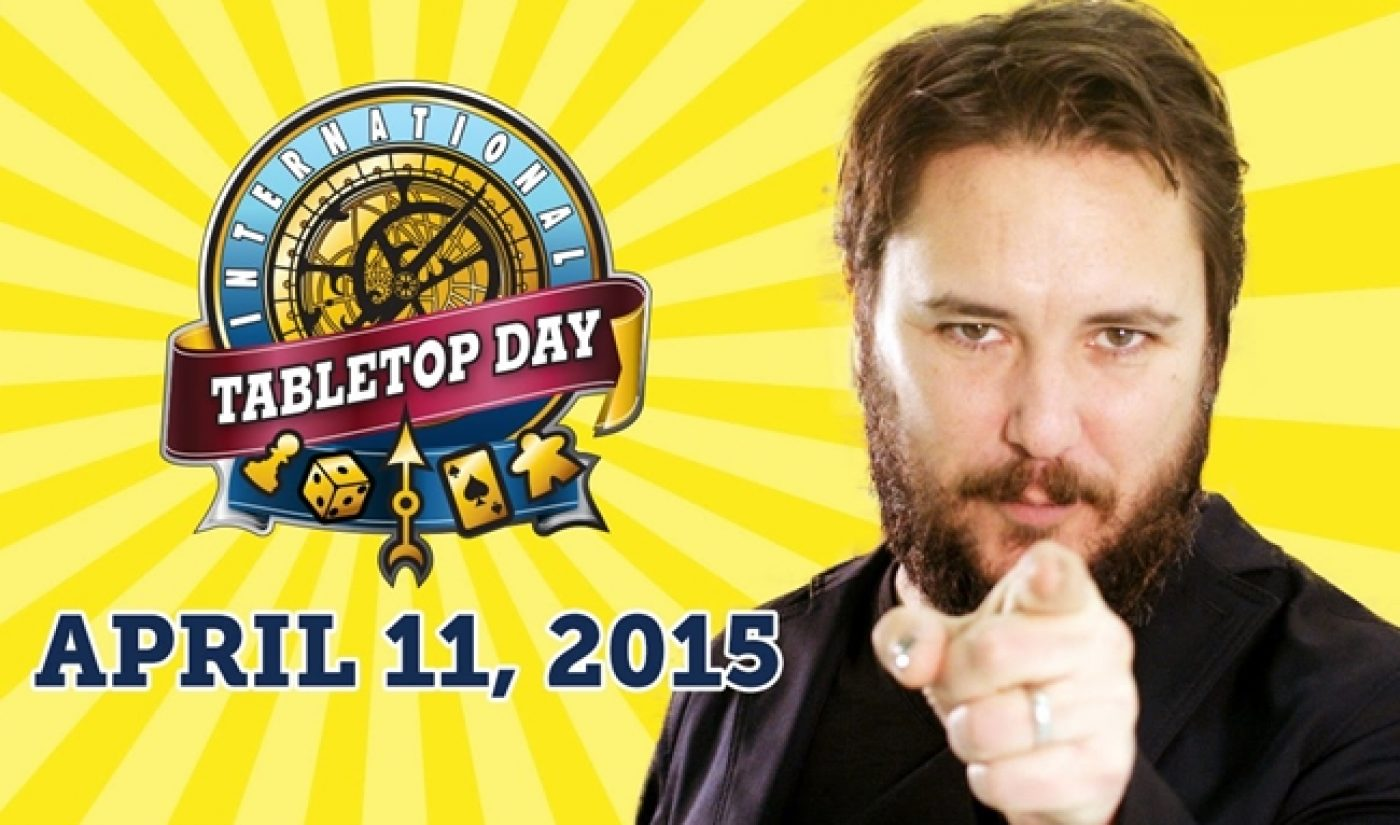 Geek & Sundry Brings Back TableTop Day, Offers Games To Charity
