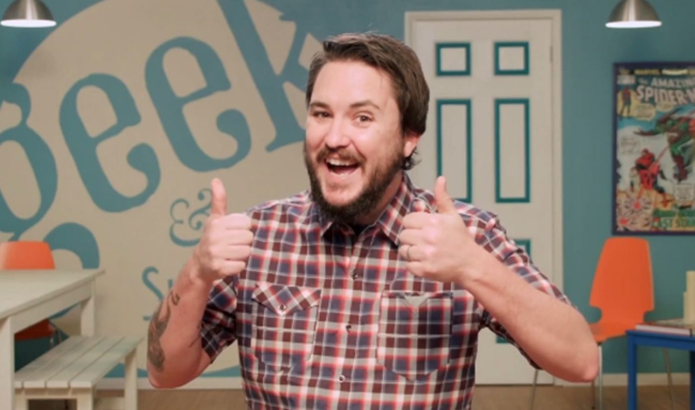 Wil Wheaton's RPG Show Gets A Title, June 2nd Release Date
