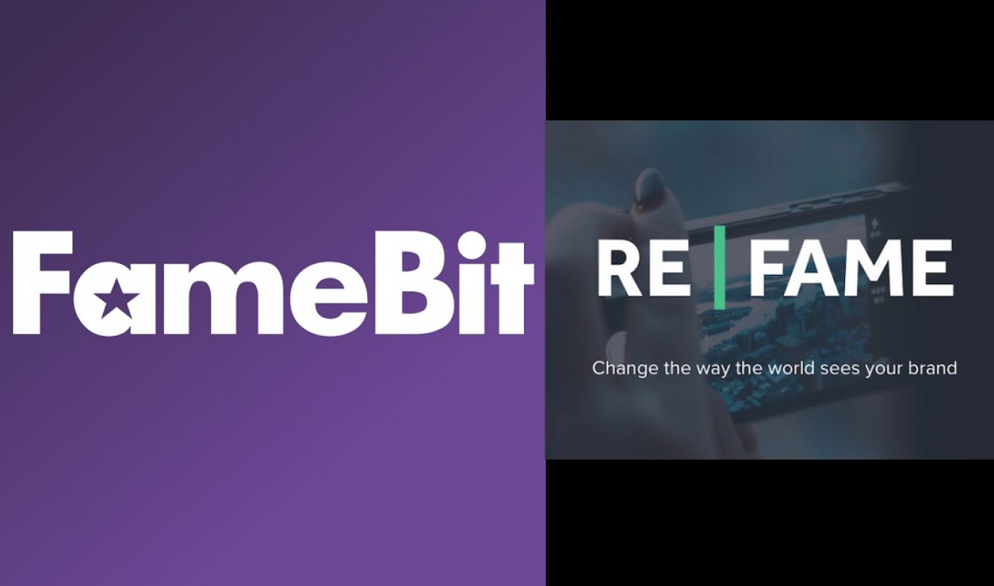 FameBit Acquires Video Agency Refame, Crosses 450 Million Subscribers Mark