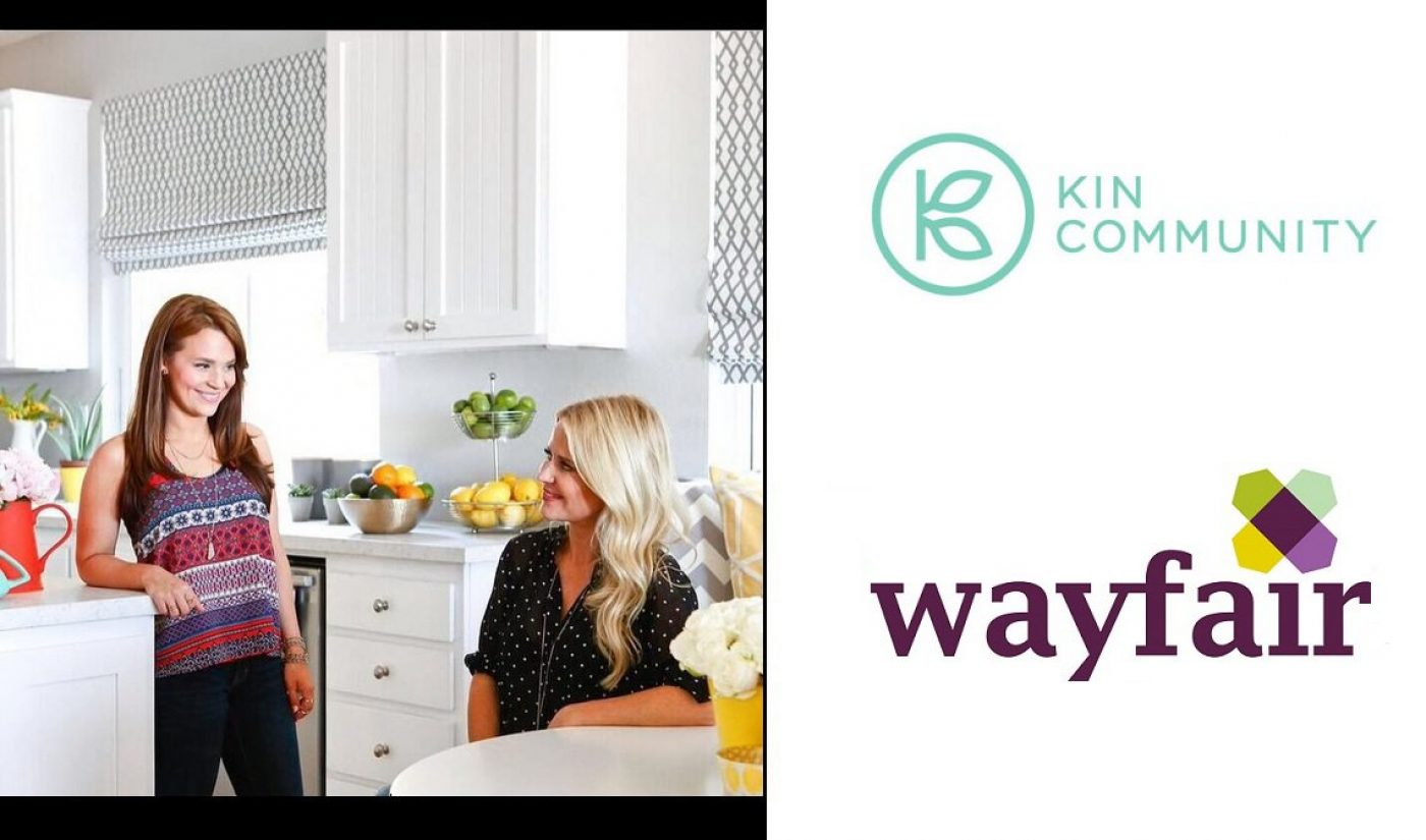 Wayfair, Kin Community To Debut Home Makeover Show, Starting With Rosanna Pansino