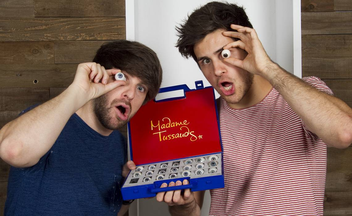 Smosh-Madame-Tussauds-San-Francisco-Wax-Figures