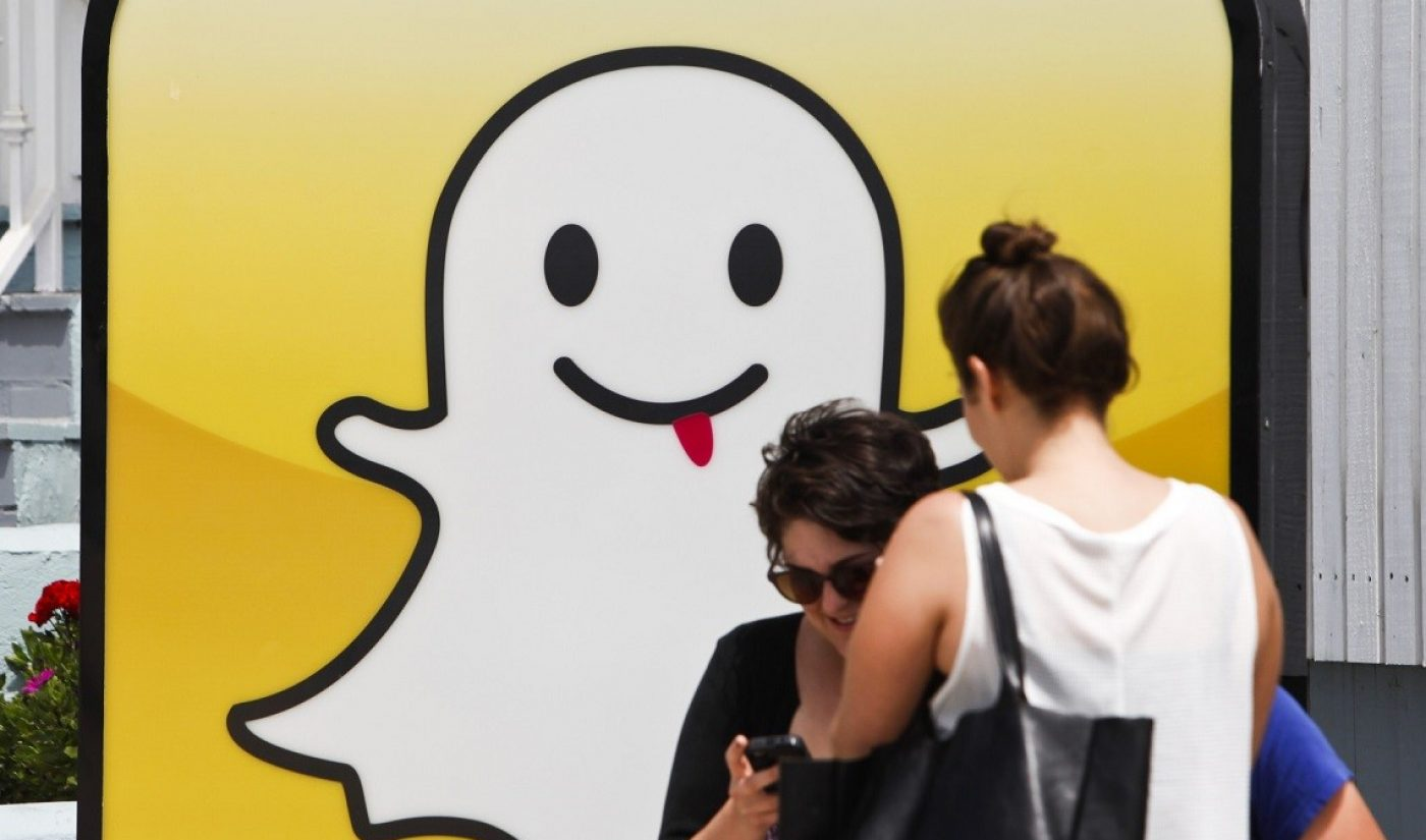 Snapchat Is Reportedly Raising $650 Million, Valued At $16 Billion