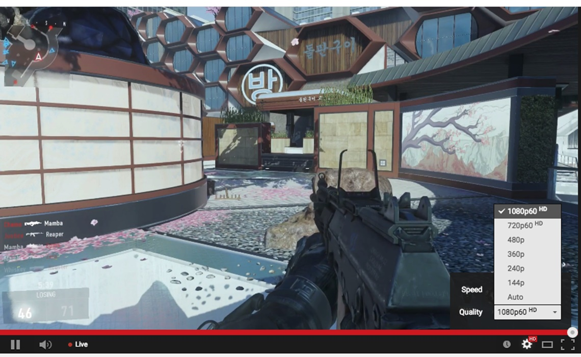 YouTube Lets Users Live Stream At 60 Frames Per Second