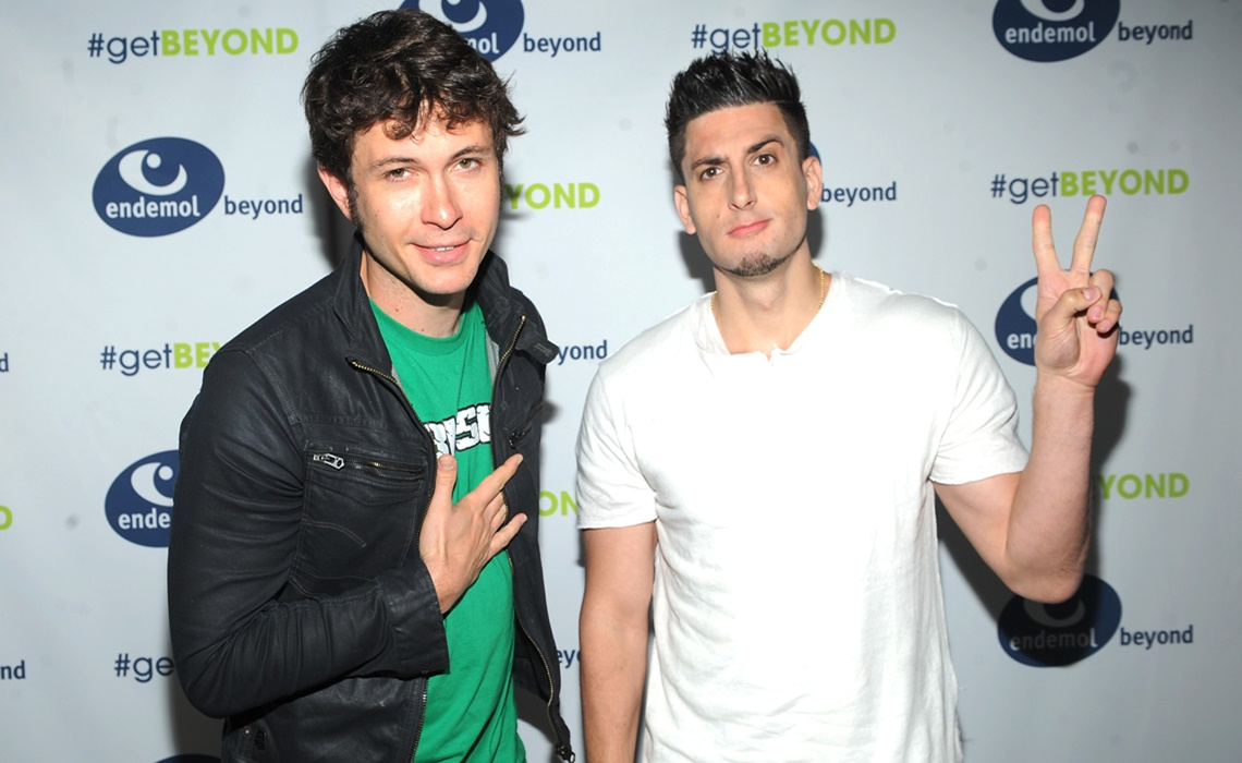 NEW YORK, NY - MAY 07:  Toby Turner and Jesse Wellens attend  Endemol Beyond NewFronts 2015 at Current at Chelsea Piers on May 7, 2015 in New York City.  (Photo by Brad Barket/Getty Images for Endemol Shine Group) *** Local Caption *** Toby Turner; Jesse Wellens