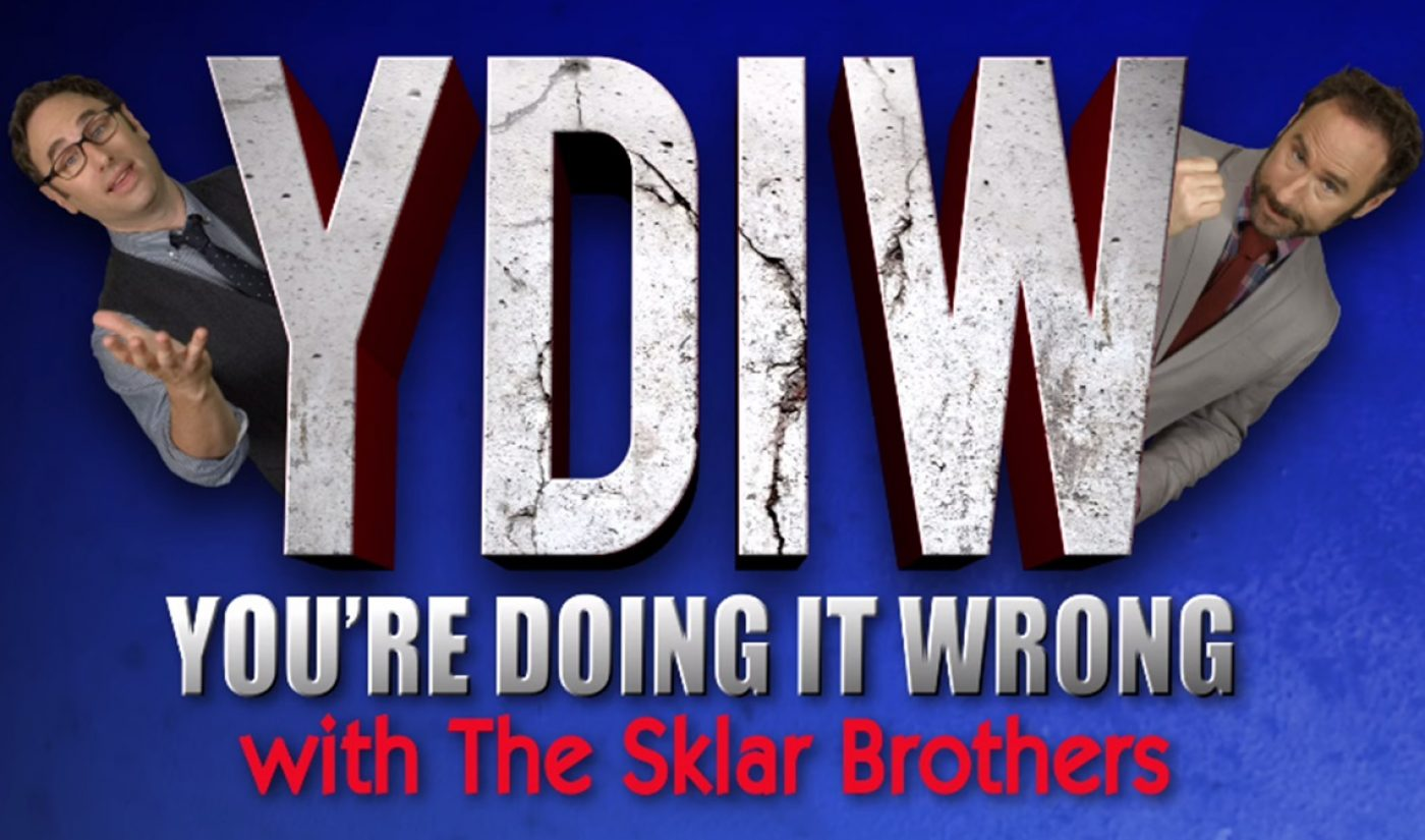 In New Web Series, Sklar Brothers, PBS Tell Viewers 'You're Doing It Wrong'