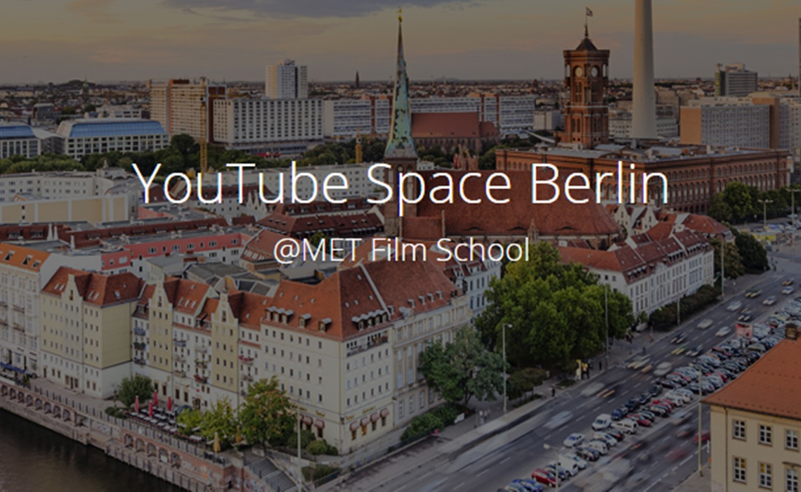 youtube s sixth creator space to open in berlin. Black Bedroom Furniture Sets. Home Design Ideas