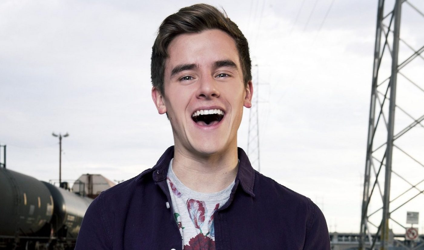 YouTube Star Connor Franta To Be Honored By Thirst Project Organization