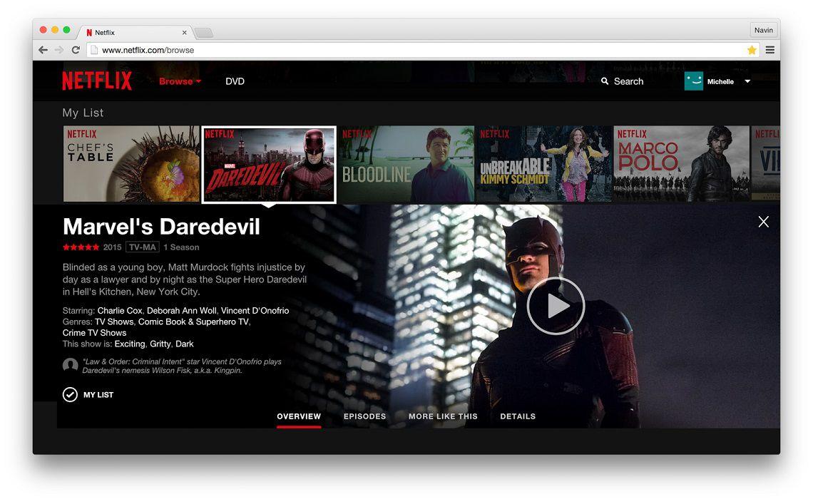 Netflix Updates