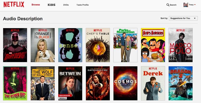 Netflix Updates Its Site, Adds More Audio Description To Titles