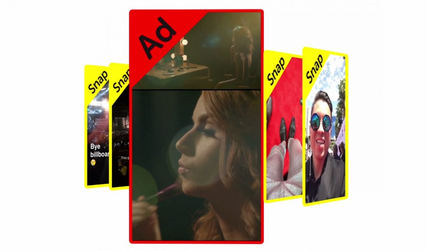 Snapchat Introduces 3V Advertising, Launches Branded Content Agency