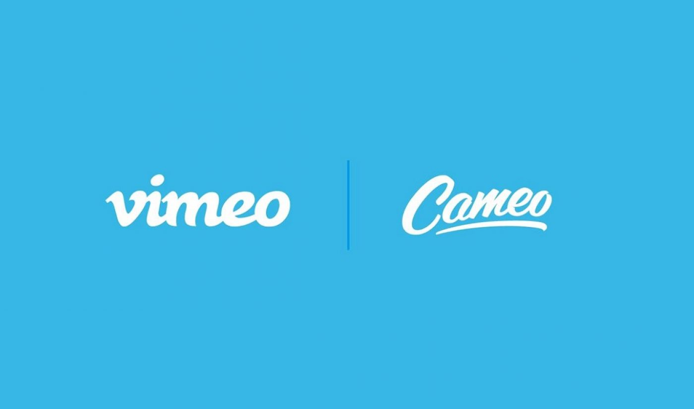 Vimeo Re-Launches Video Editing App Cameo With New Features