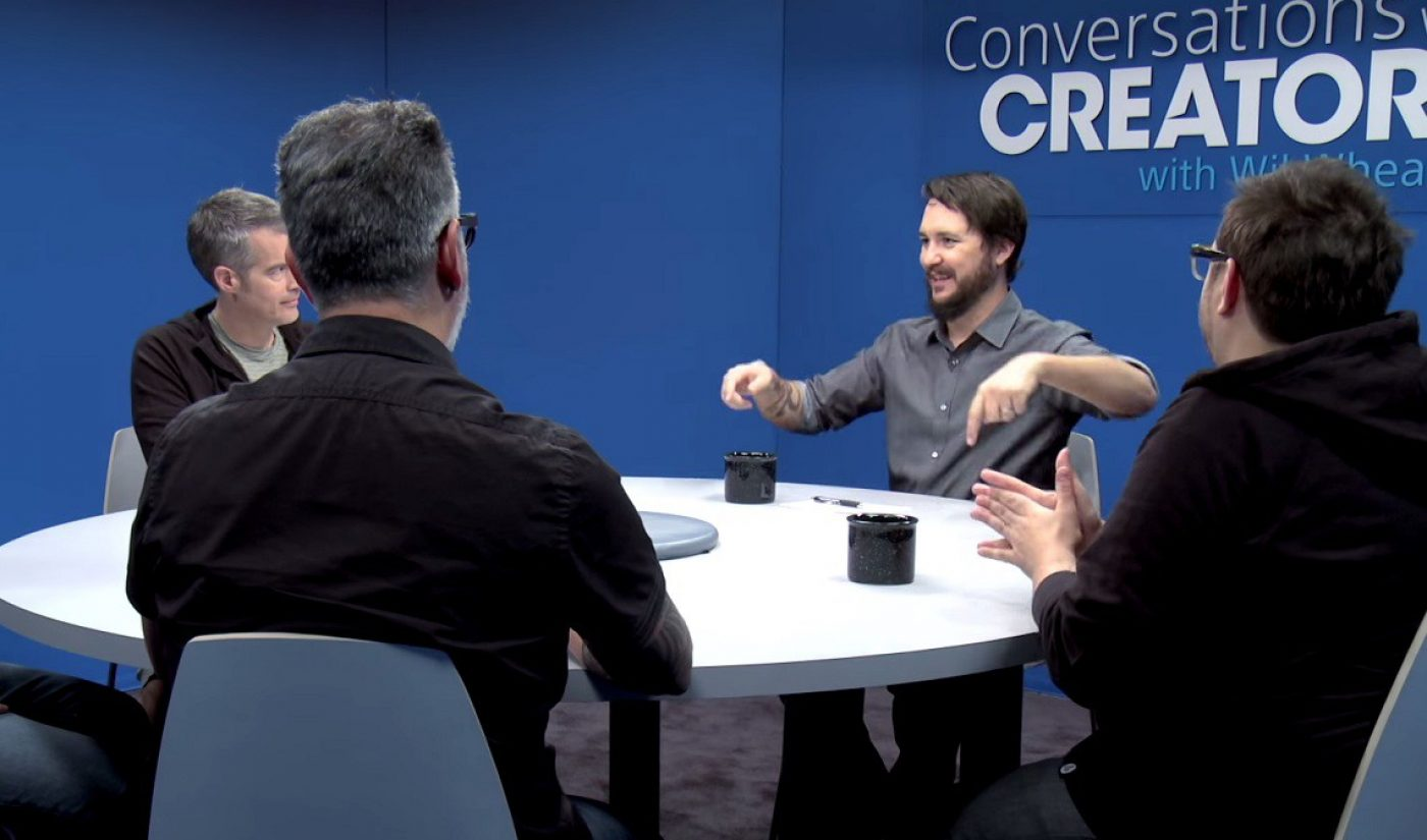Wil Wheaton Hosts 'Conversations With Creators' On PlayStation Store