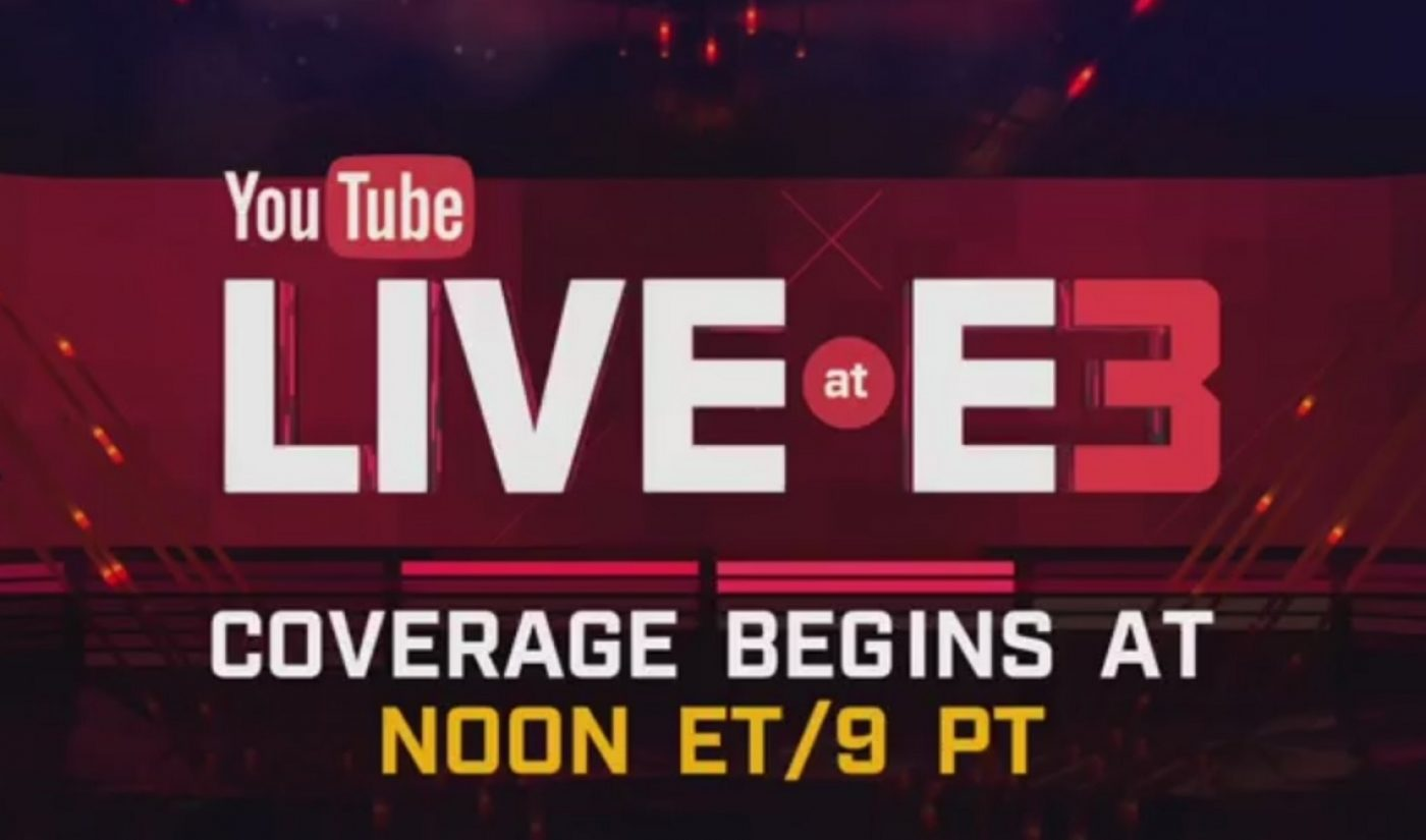 YouTube's E3 Live Stream Garnered Eight Million Views In 12 Hours