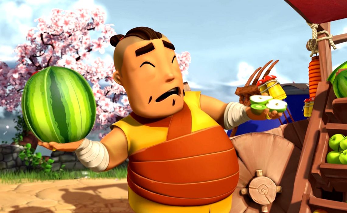 YouTube-Halfbrick-Fruit-Ninja-Series