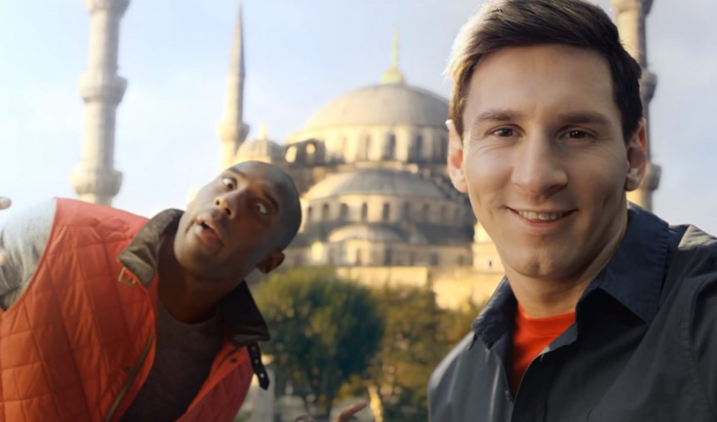 Turkish Airlines' 'Kobe Vs. Messi' Voted Best Ad From YouTube's First Decade