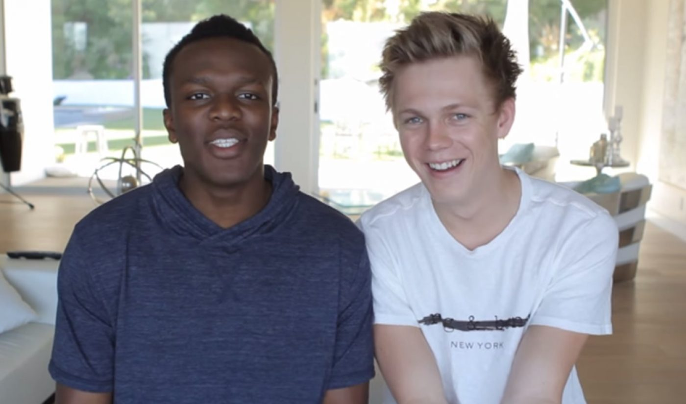 YouTube Stars KSI, Caspar Lee To Star In 'Laid In America' Feature Film