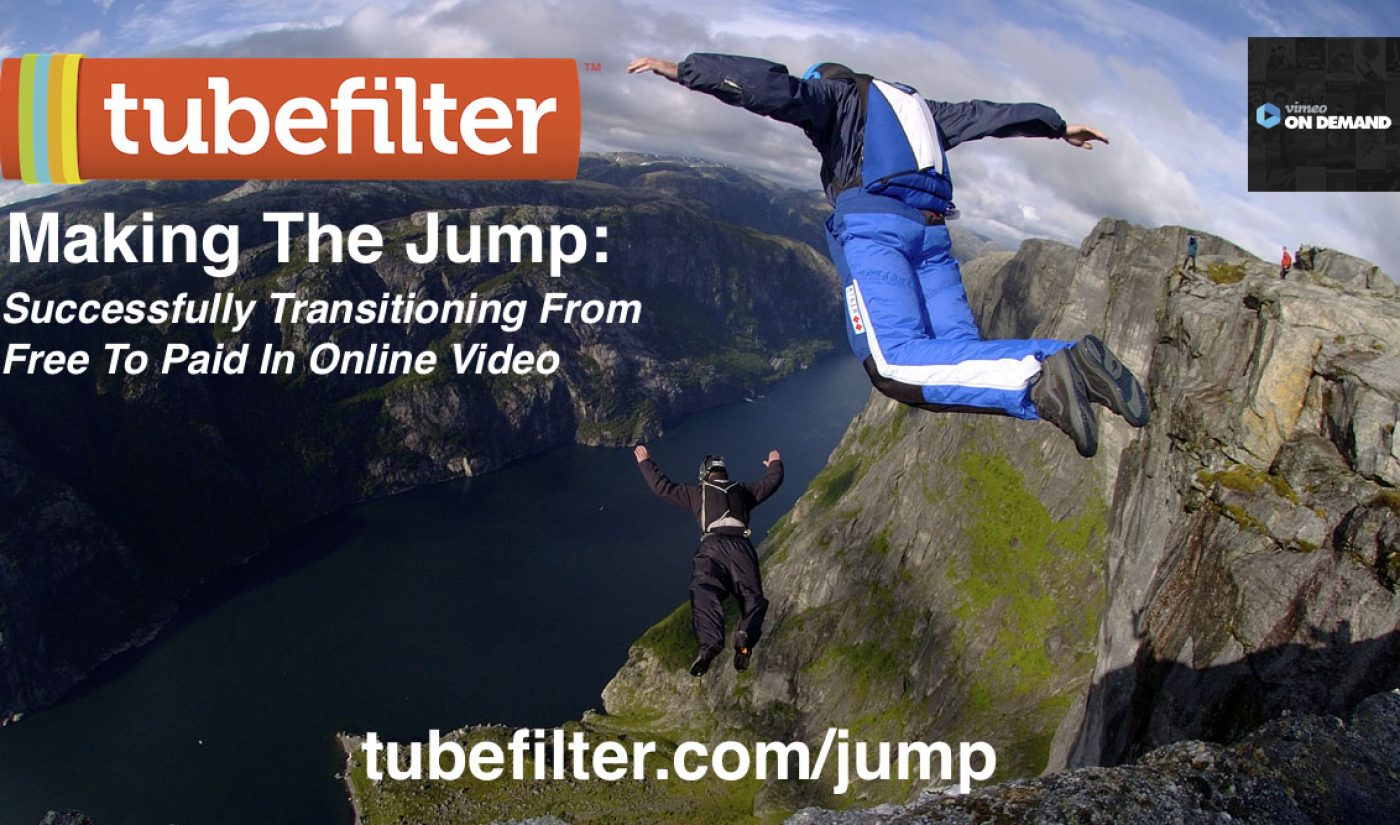 Tubefilter Meetup: Making The Jump—Successfully Transitioning From  Free To Paid In Online Video