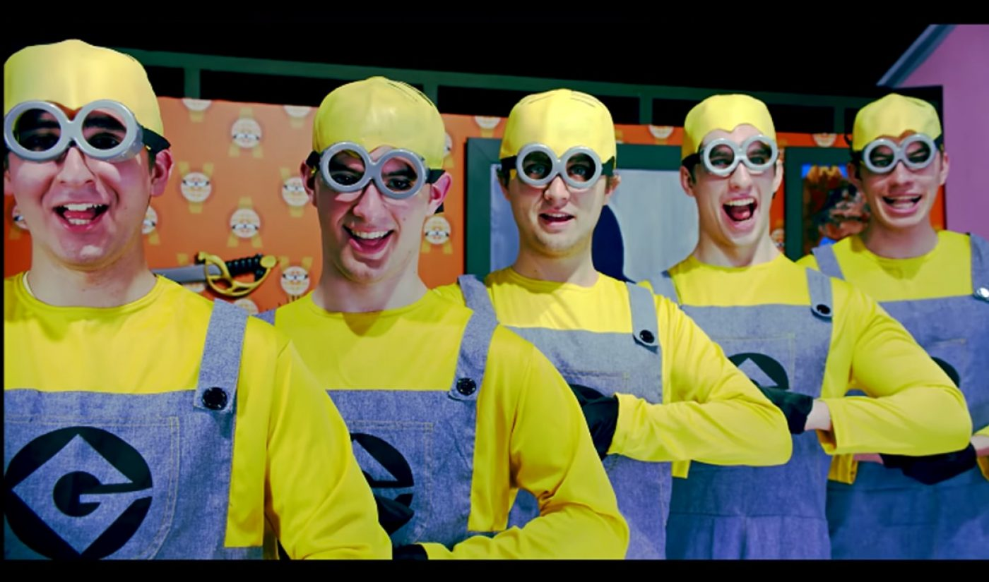 'Minions' Sing A Happy Tune At YouTube Space New York