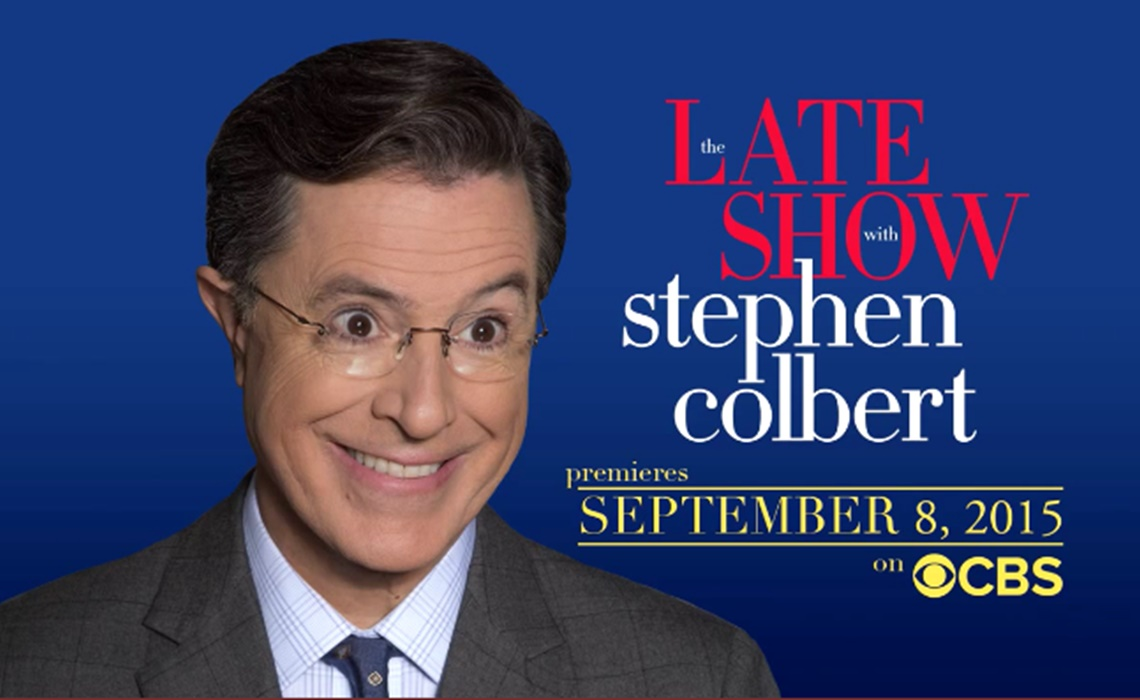 stephen colbert young