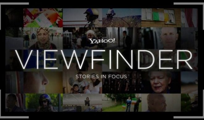 With 'Viewfinder,' Yahoo Looks To Make News Hip