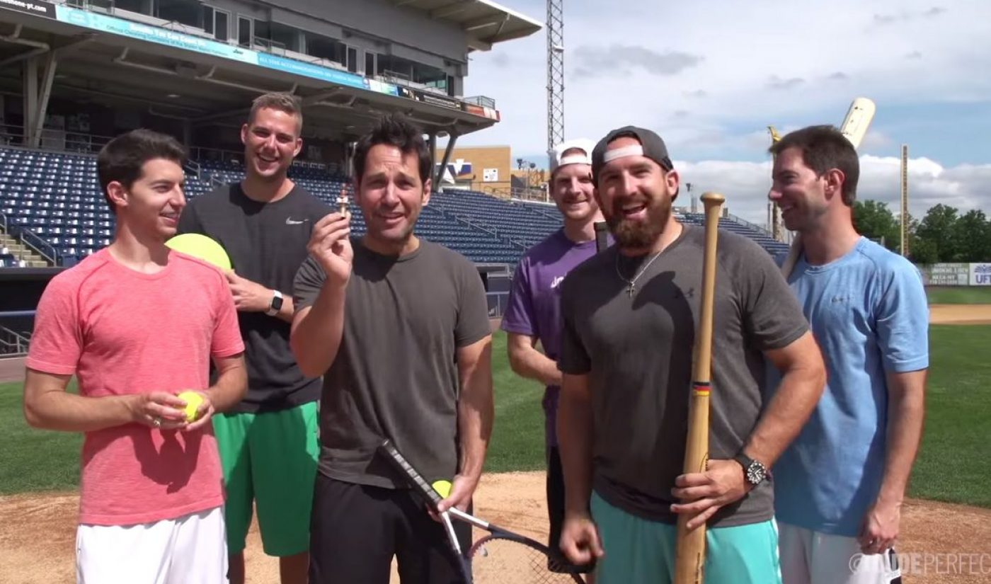 Dude Perfect, Paul Rudd Compete In Dizzy Sports Challenge For 'Ant-Man' Promo