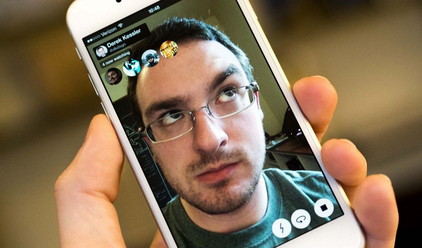 Meerkat Adds Ability To Let Friends Take Over Your Live Stream