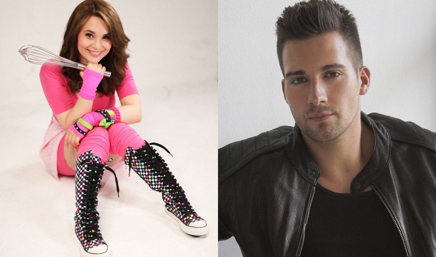 Stream Con NYC Adds Rosanna Pansino, James Maslow To Guest Lineup