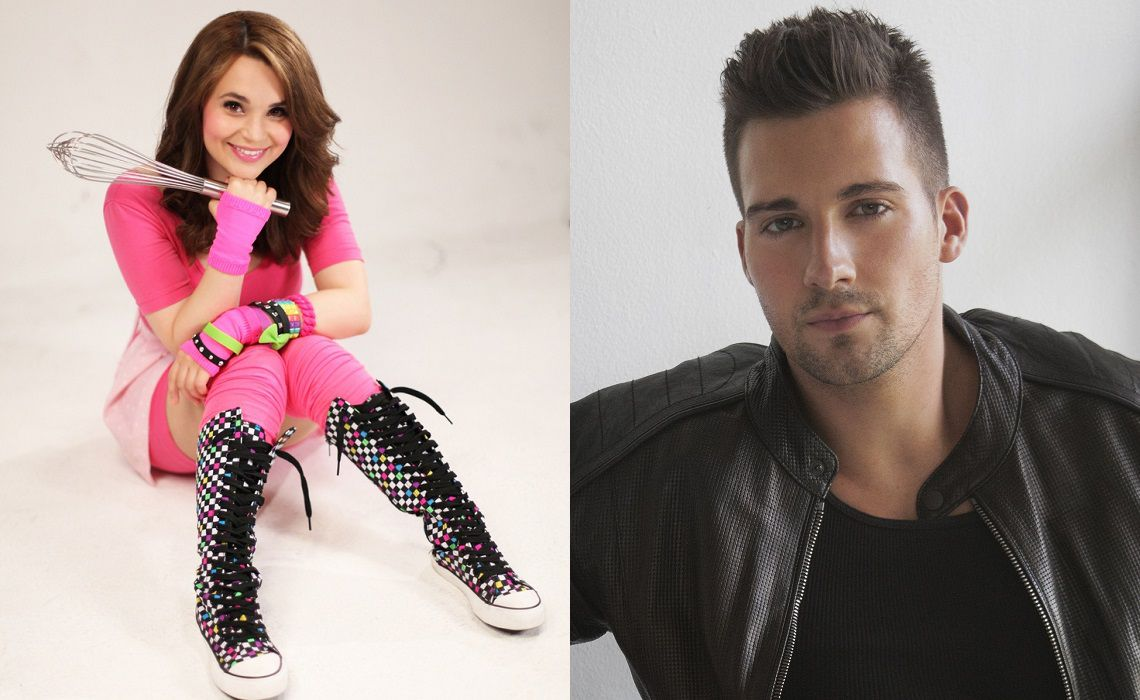 Stream-Con-NYC-Rosanna-Pansino-James-Maslow