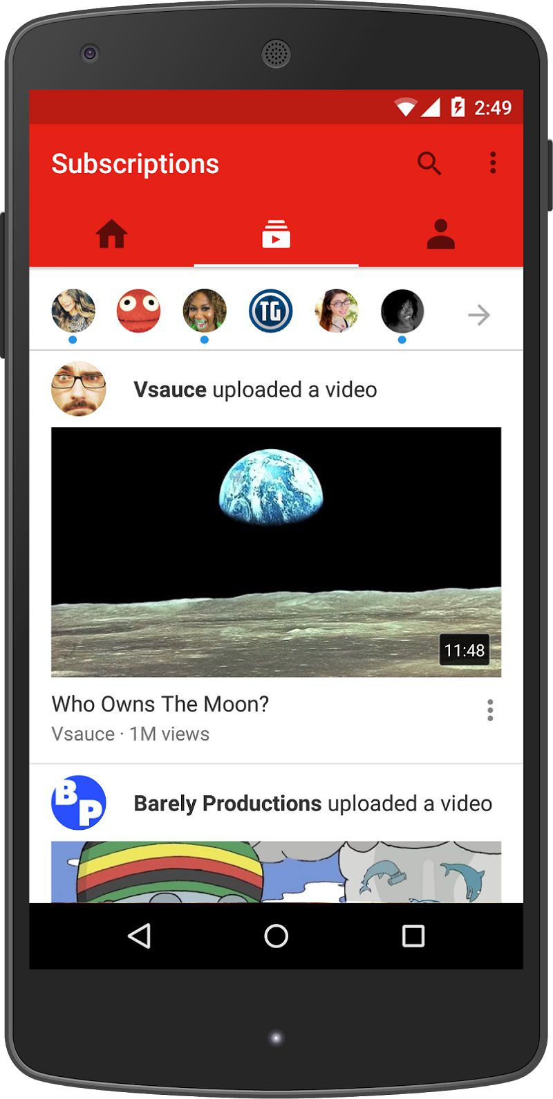 YouTube Unveils New Mobile App Design With Emphasis On ...