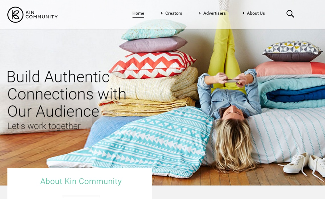 kin-community-homepage