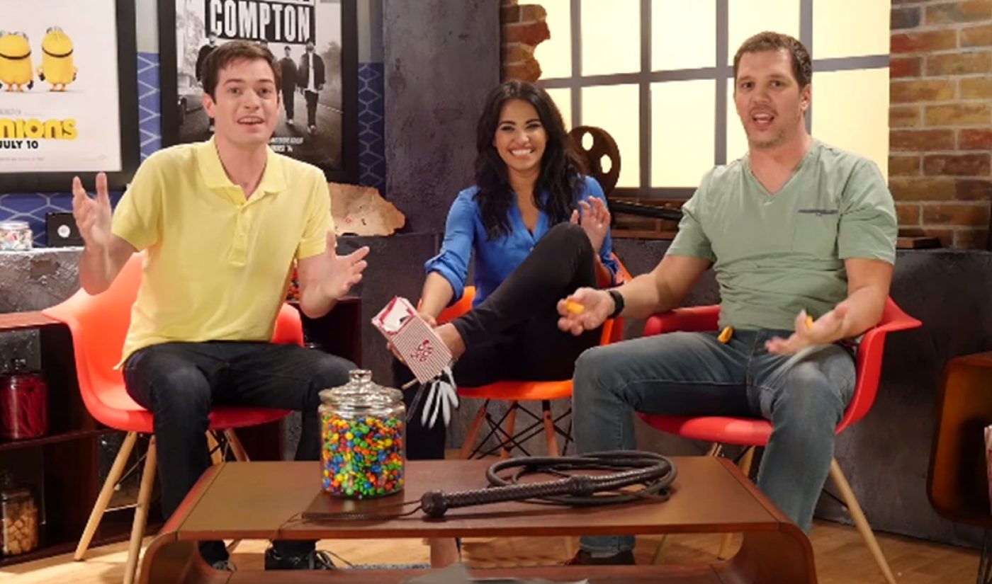 Movieclips Takes Residence At YouTube Space LA For A 'Movie3Some'