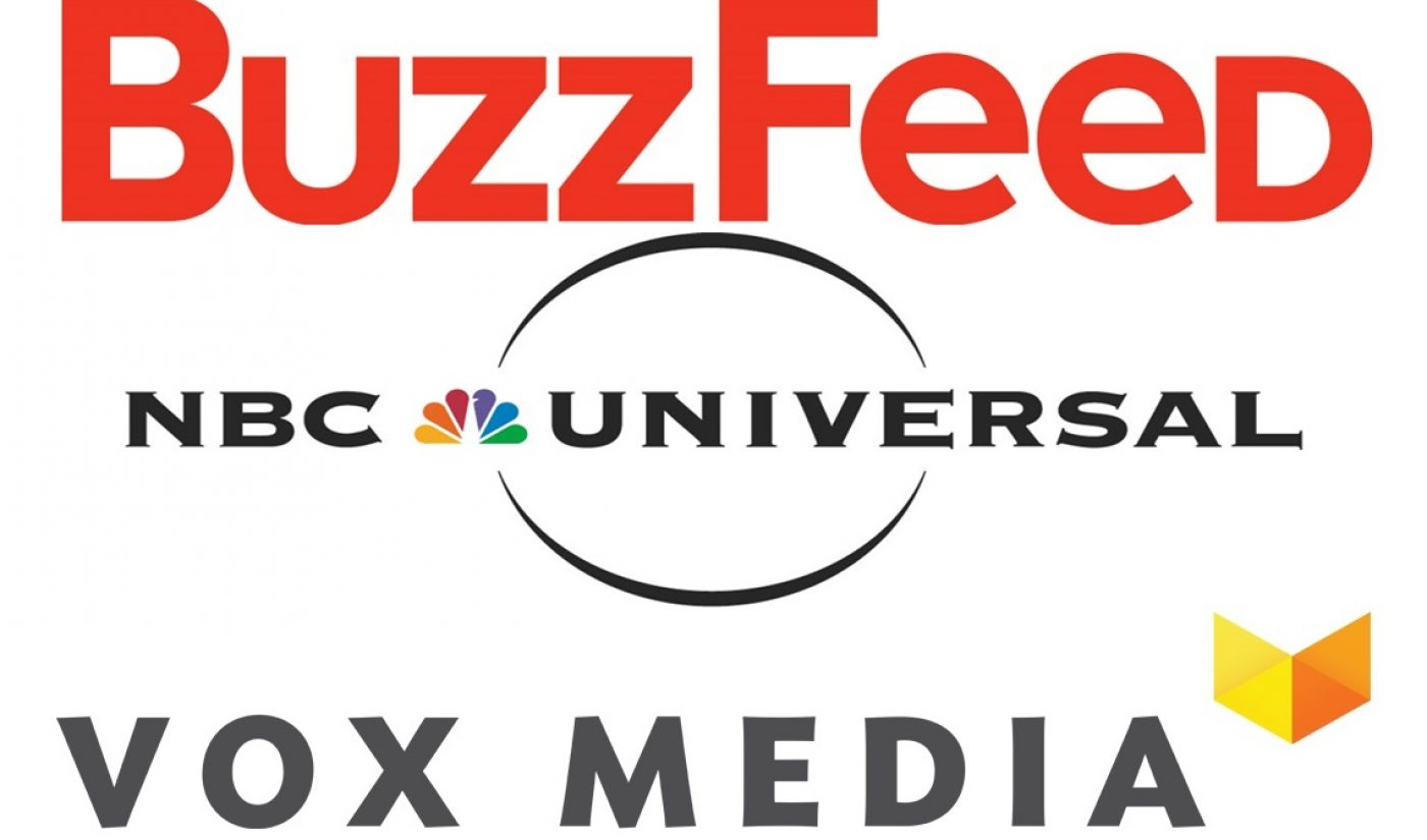 NBCUniversal Rumored To Be Close To Investments In BuzzFeed, Vox
