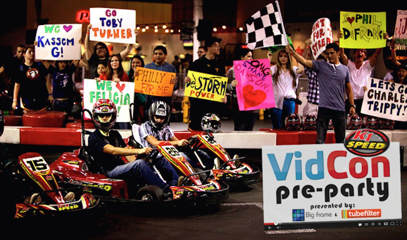 Join Us At Tubefilter's 5th Annual VidCon Pre-Party, Fueled By Big Frame