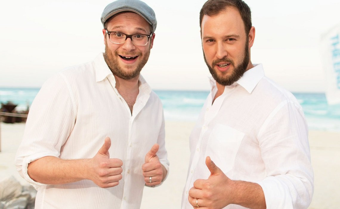 Image result for seth and evan