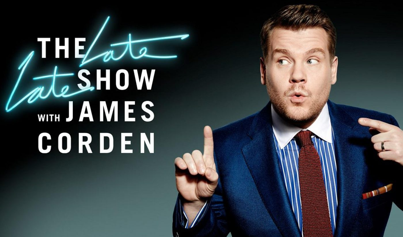 What It Was Like For James Corden's 'Late Late Show' To Film At YouTube Space LA