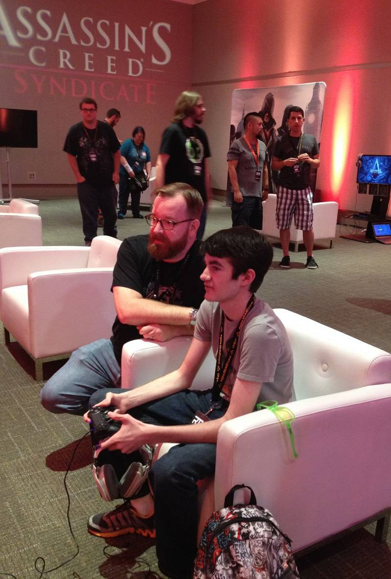 RTX-2015-Erik-Battany-Make-A-Wish-Achievement-Hunter-4