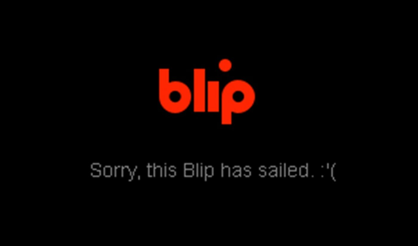 Maker Studios Has Officially Shut Down Blip