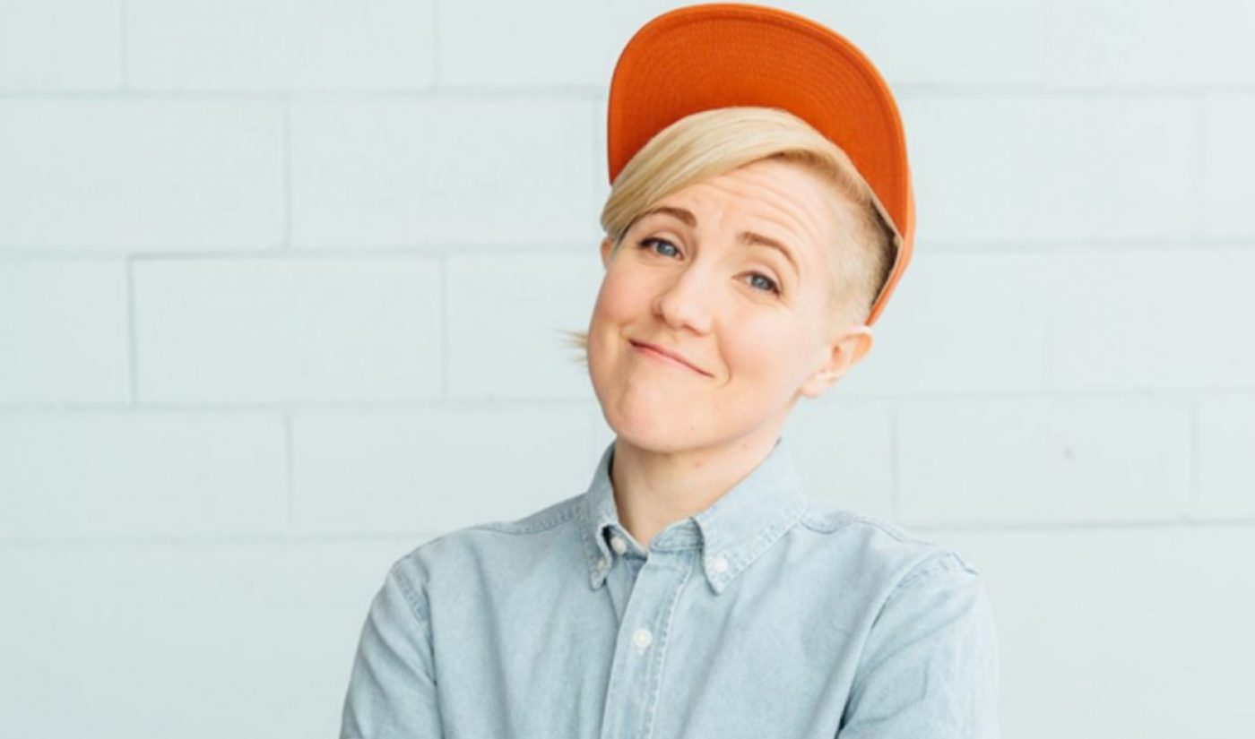 Hannah Hart Signs With Kin Community