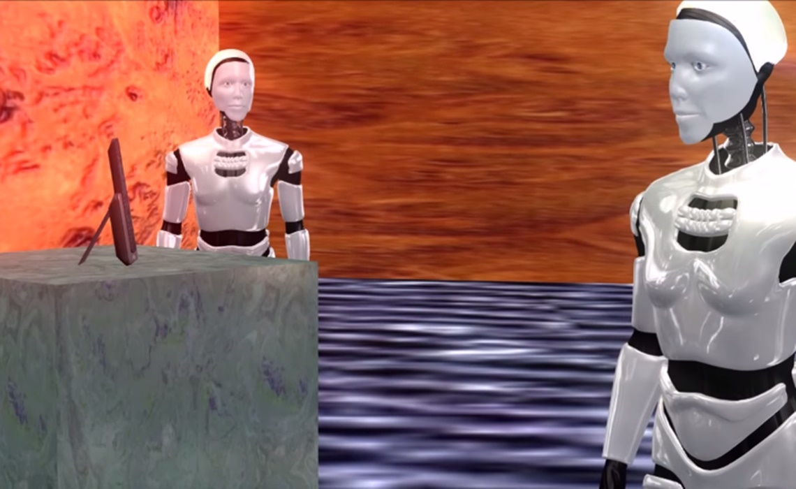 two-robots-talking