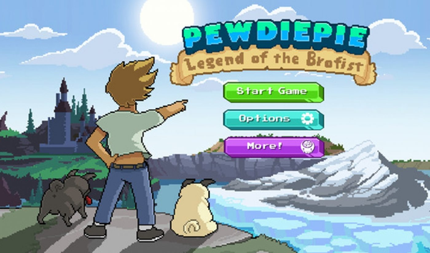PewDiePie's Video Game Soars To #1 On The App Store Charts