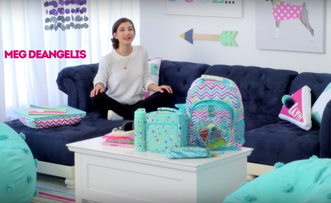 Meg DeAngelis Launches Collection Through Pottery Barns Teen Retailer - Pottery barn teenagers