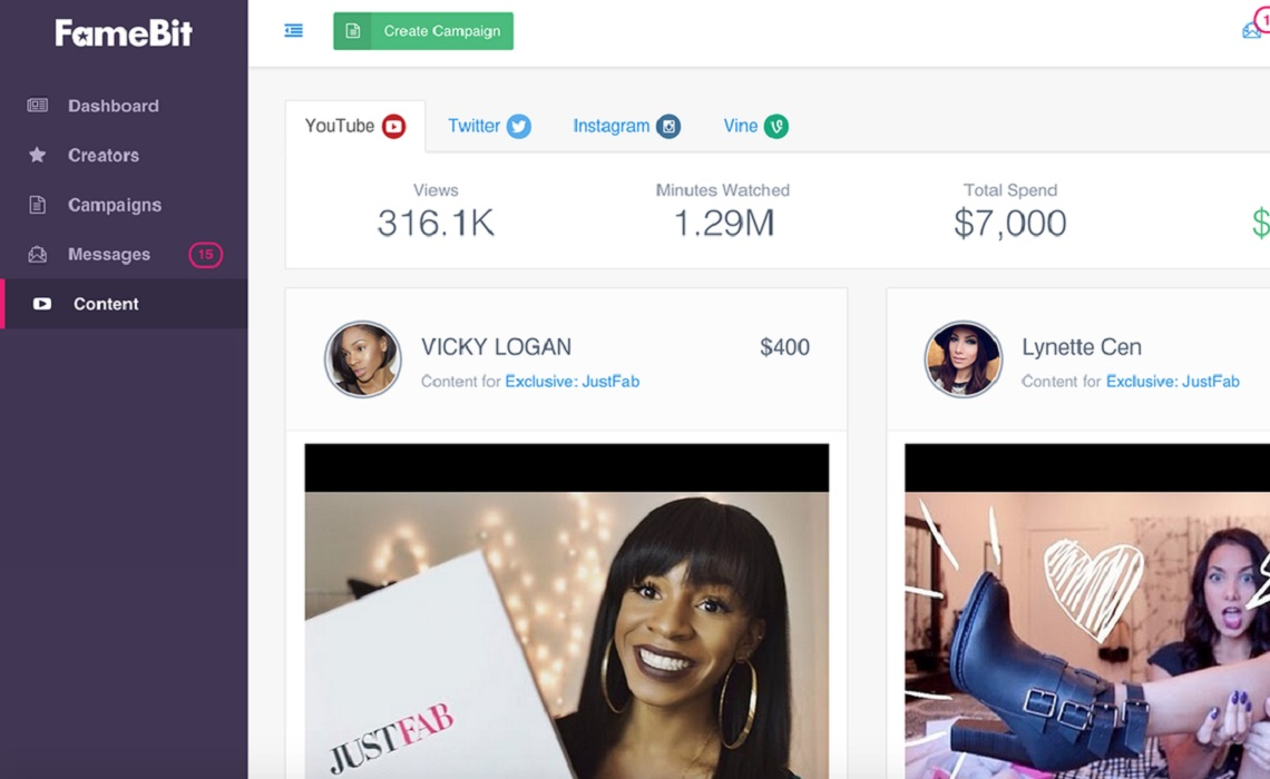 FameBit-Twitter-Instagram-Vine-Branded-Content