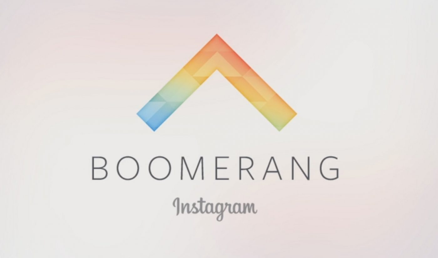 Instagram Introduces Boomerang App To Create One-Second Looping Clips